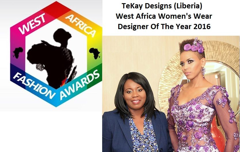 TeKay Designs Wins WAFA Women's Wear Designer Of The Year