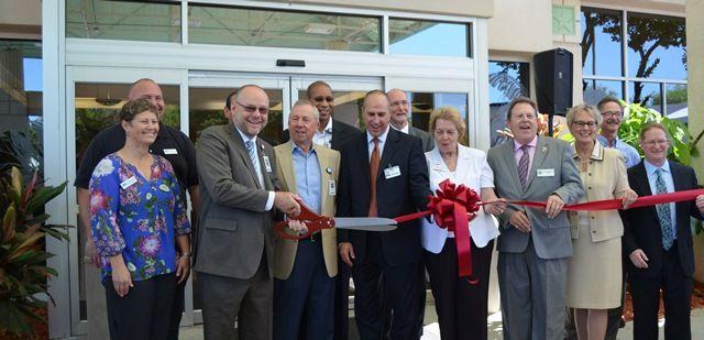 Ribbon cutting celebration for florida hospital new for Bert fish hospital
