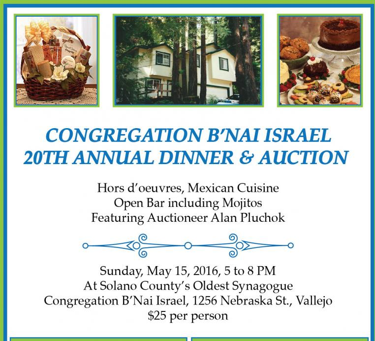 CBI Annual Dinner Auction Vallejo 5/15/16
