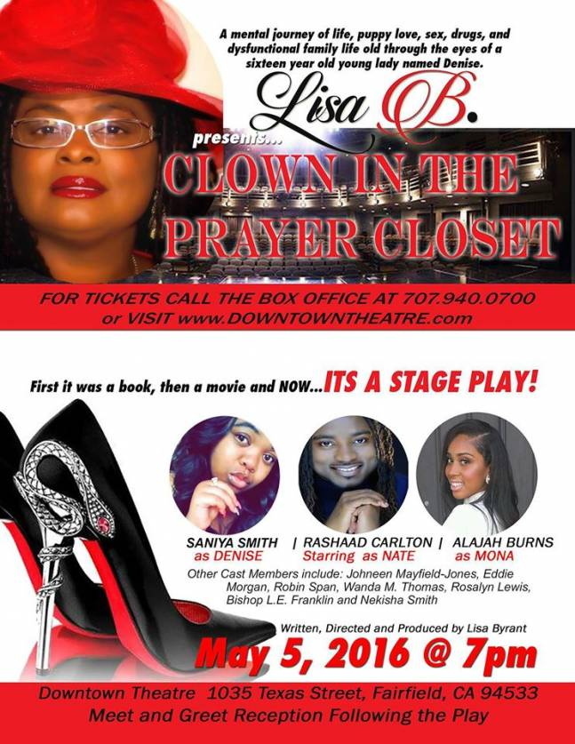 """Clown In The Prayer Closet,"" a new play by Lisa Bryant."