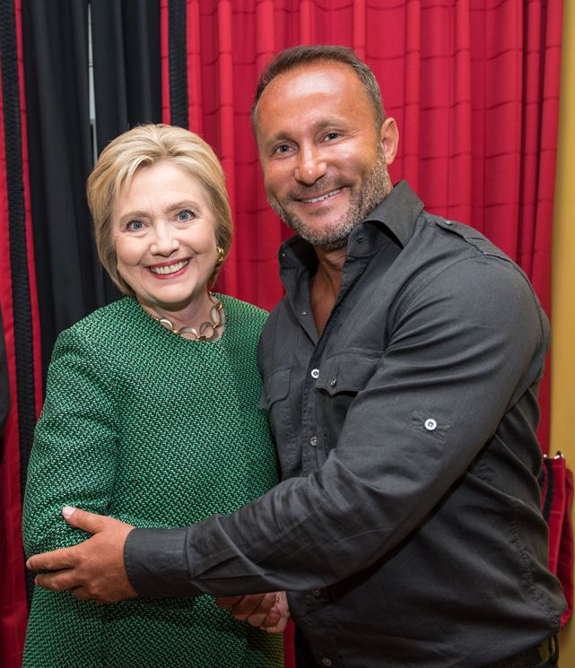CEO of Allied Wallet Andy Khawaja Meets with Hillary Clinton