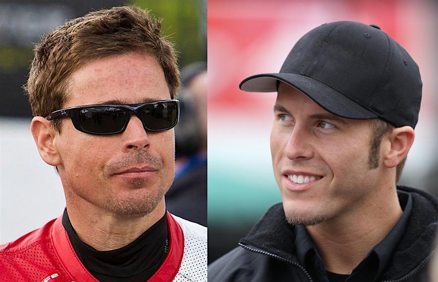 Hollywood Electrics Racers - Mark Miller #10 & Jake Holden #59
