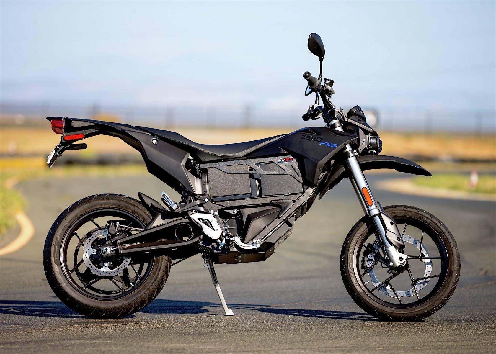 The 2016 Zero FXS Electric Motorcycle