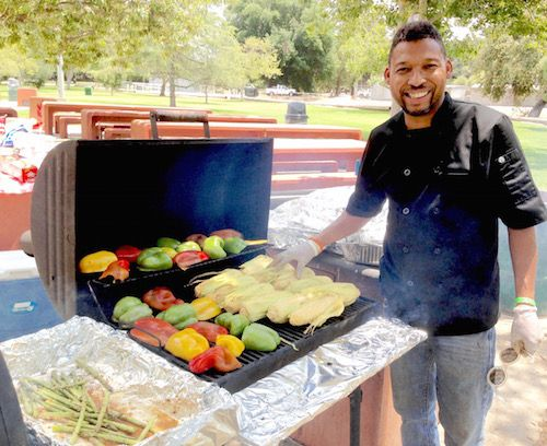 BBQ Chef Mick Brown teaches Grilling at Griffith Park