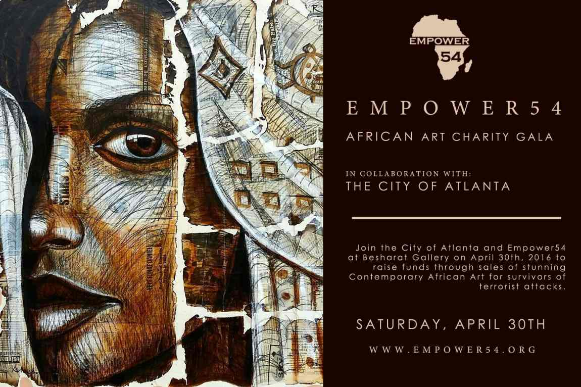 African Art Gala Atlanta - Invite