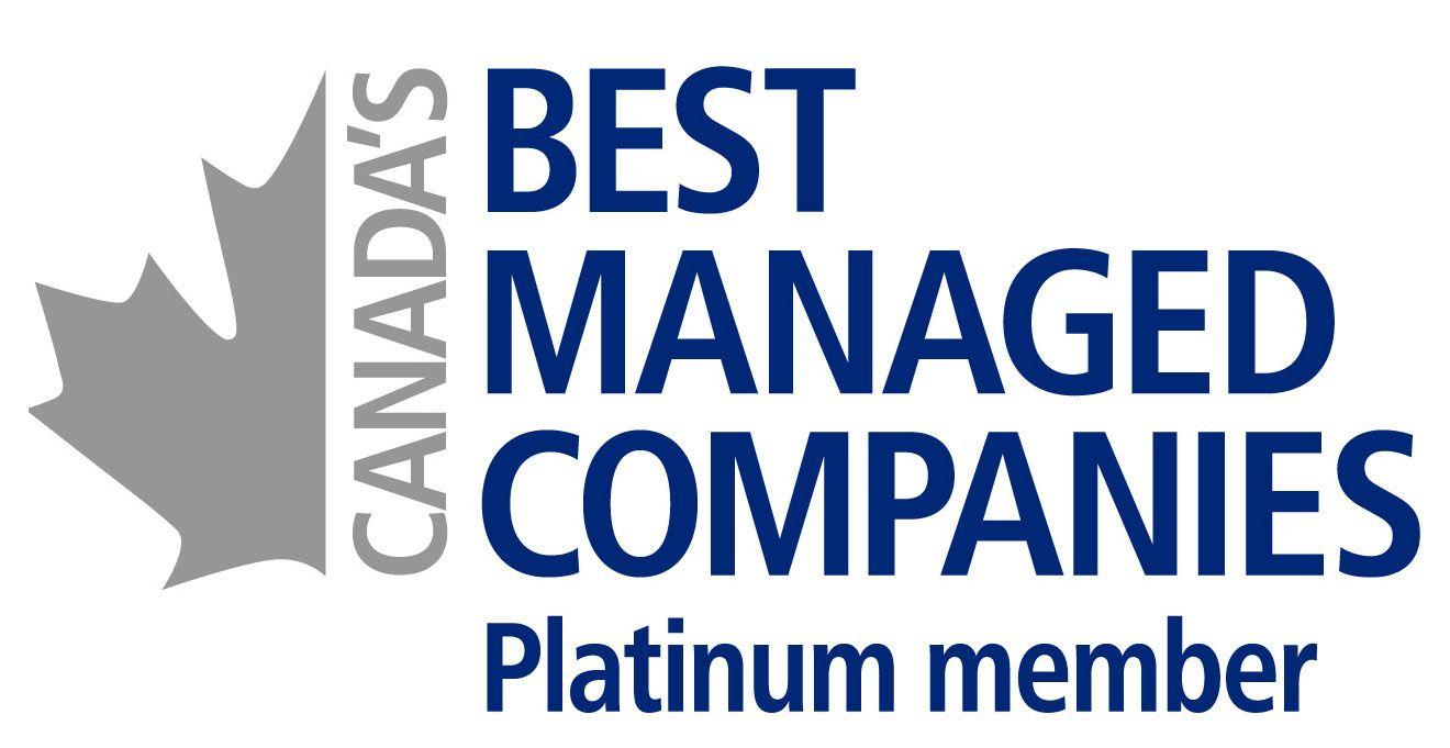 Canada's Best Managed Companies - Platinum Member
