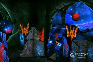 First GameWorks laser tag arena