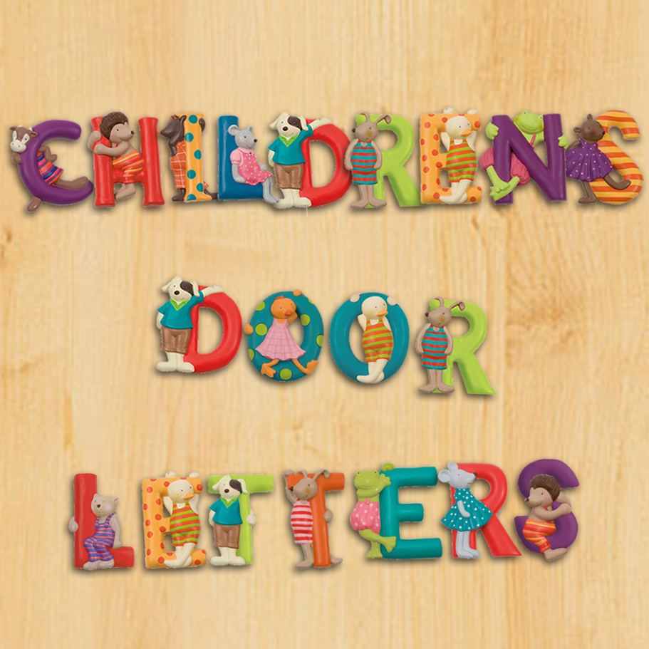 Nursery Door Letters  sc 1 st  PRLog & New Animal Alphabet Door Letters from Becky u0026 Lolo -- Becky and ... pezcame.com