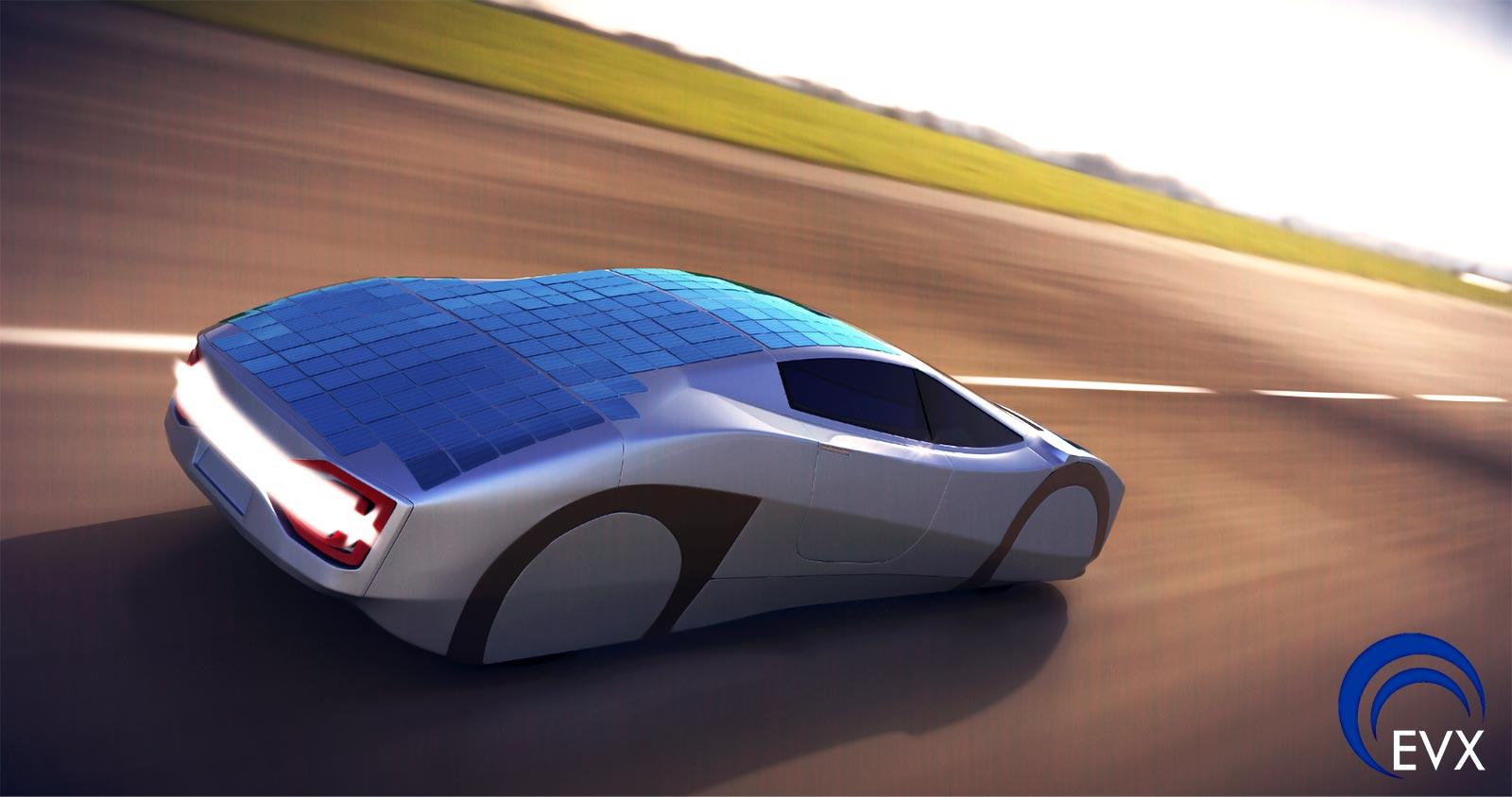 New Solar Powered Sports Car