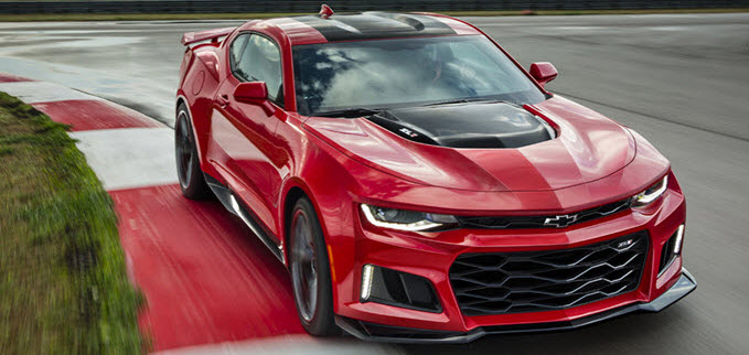 2017 Chevrolet Camaro ZL1 Coming To Ohio