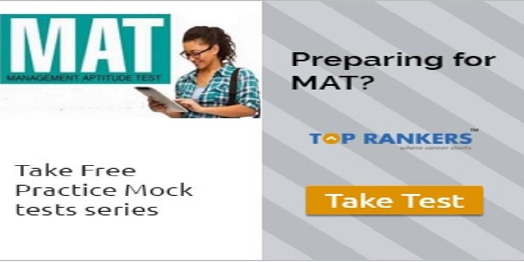 MAT-Free-Mock-test - Toprankers