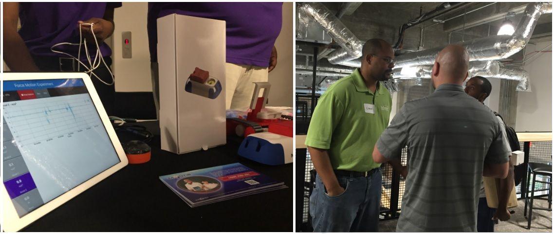 Mantis / MyStemKits Exhibit of 3D printable K-12 STEM sensor  kits