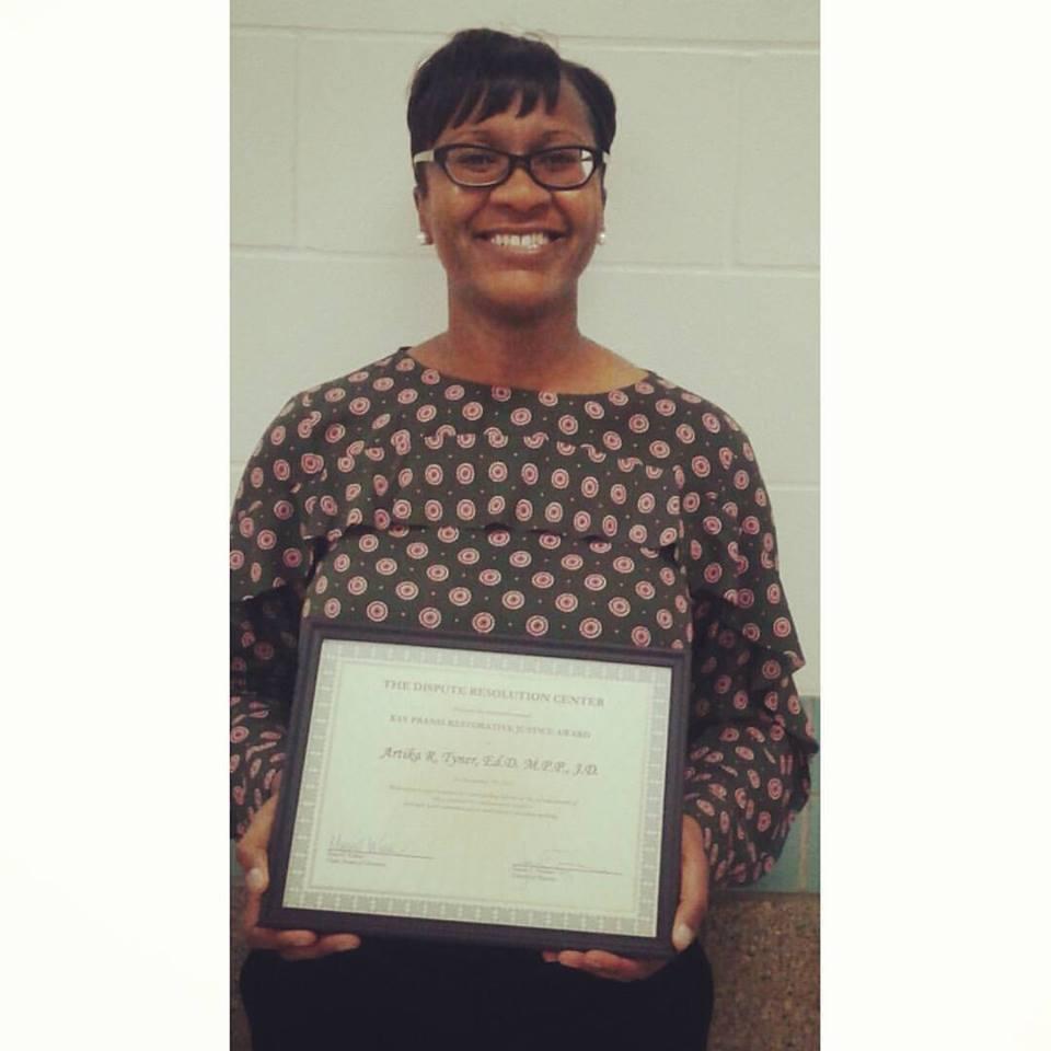2015 Kay Pranis Award