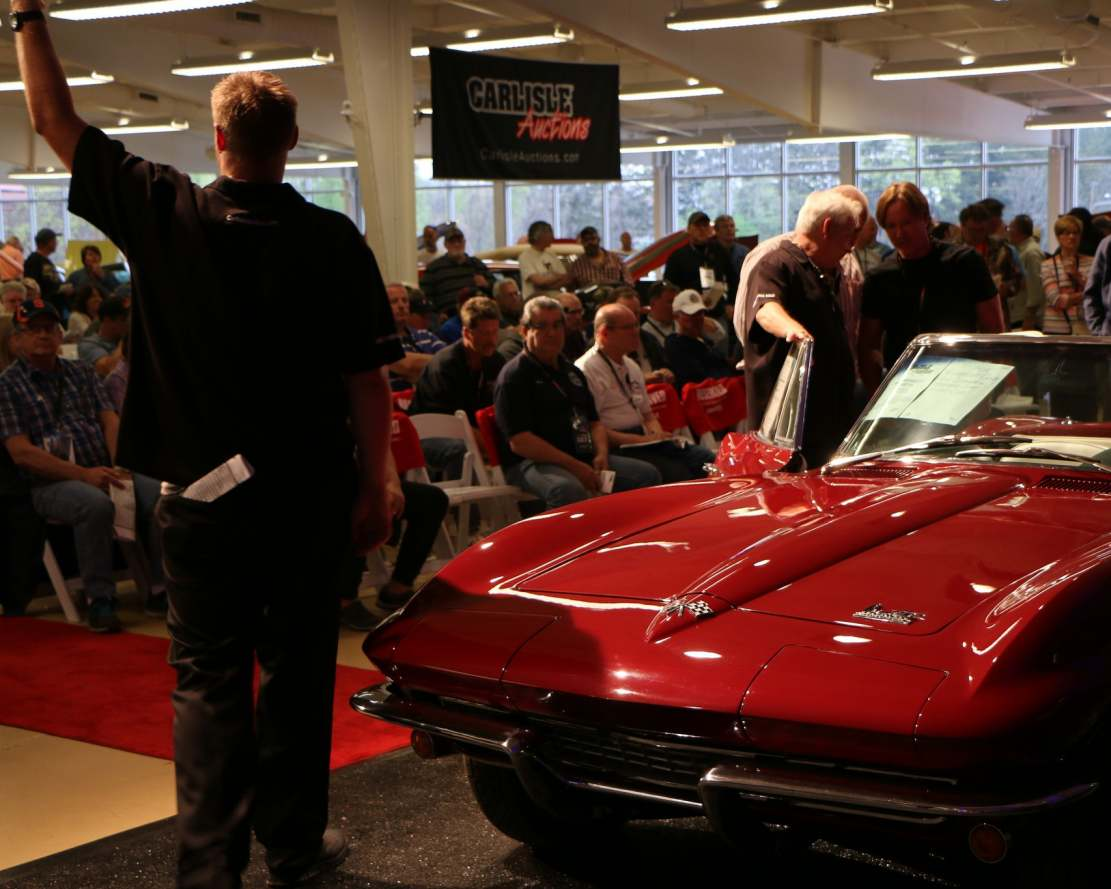 Carlisle Auctions' Spring Offering Sets New Records