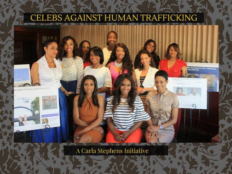 Atlanta Influencers attend Luncheon to raise awareness  about Human Trafficking