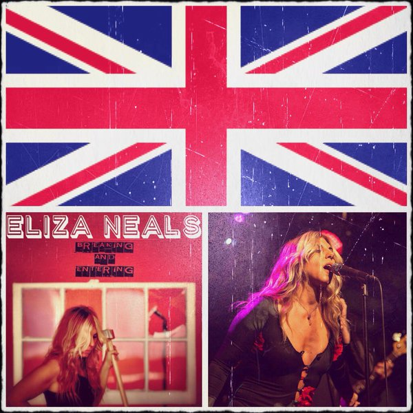 Eliza Neals Detroit Blues-Rock Performer Composer Writer Publisher #UK2016TOUR