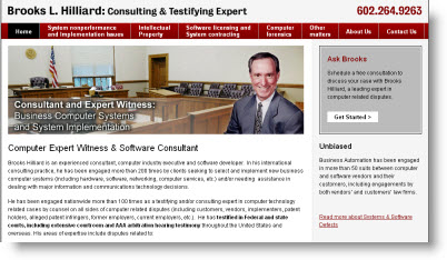 Computer Software Expert Witness Services