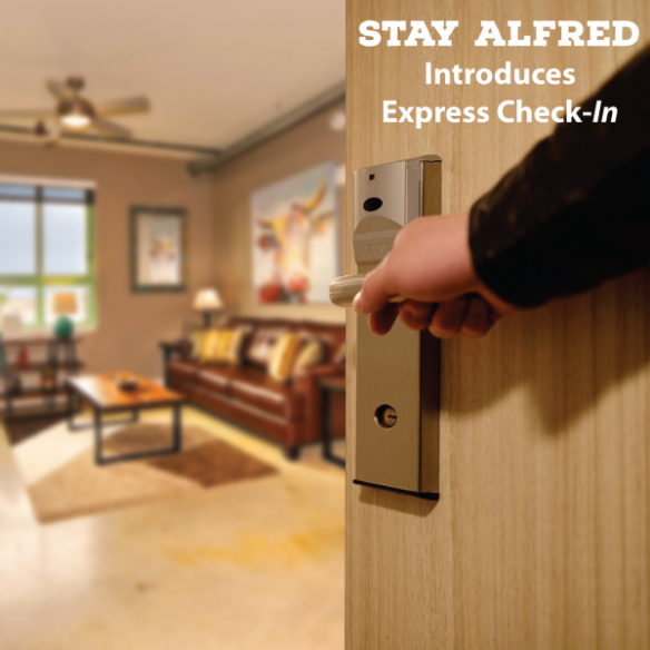 Stay Alfred Offers Exclusive Express Check-In