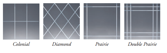 V-Groove Glass Patterns