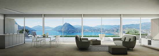 Luxury living on Lake Lugano