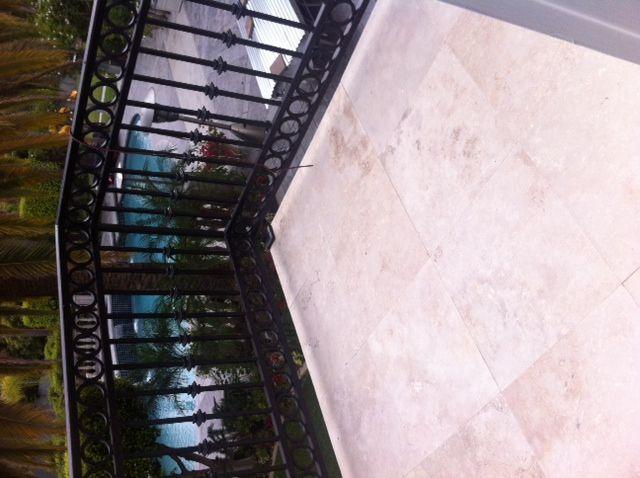 Balcony Floor Cleaning