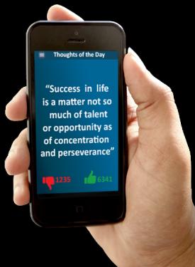 AITC Motivational Mobile App