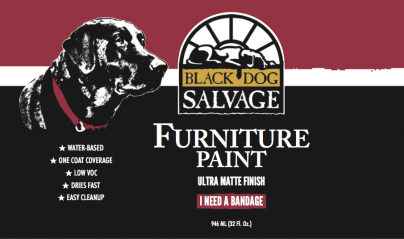 Black Dog Salvage Launches Furniture Paint Line Partnering With