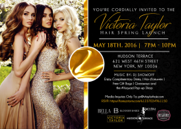 Victoria Taylor Hair Spring 2016 Launch Event