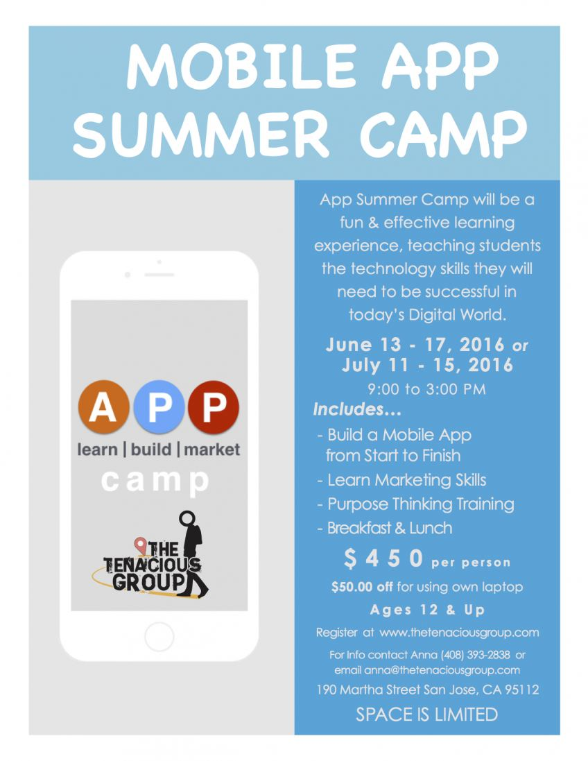 Summer Mobile APP Camp