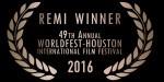 Winner: Gold Remi Film Award