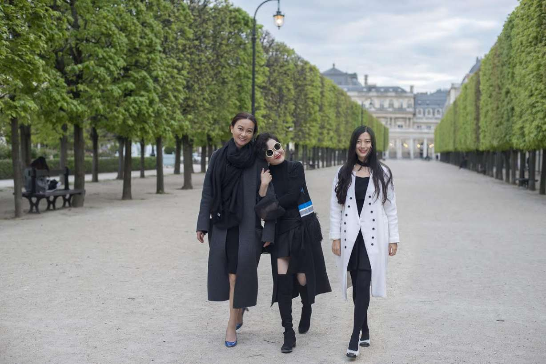 Left to Right: Chenxi Gu, Si Wang, Huixian Chen