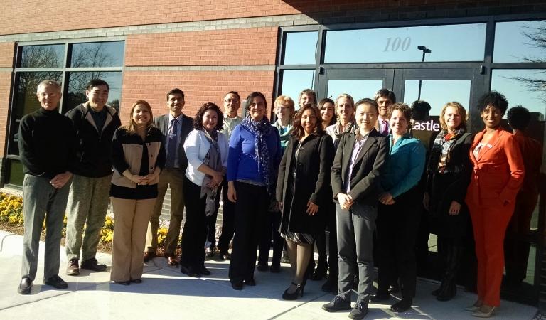 Dr. Henderson and CCHI's volunteer JTA panelists
