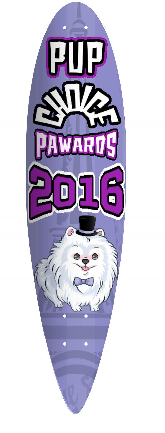 2016 Pup Choice Skateboard PAWard