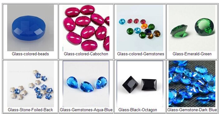 Harden Glass Gemstones China Wholesale and Suppliers -- FU RONG GEMS