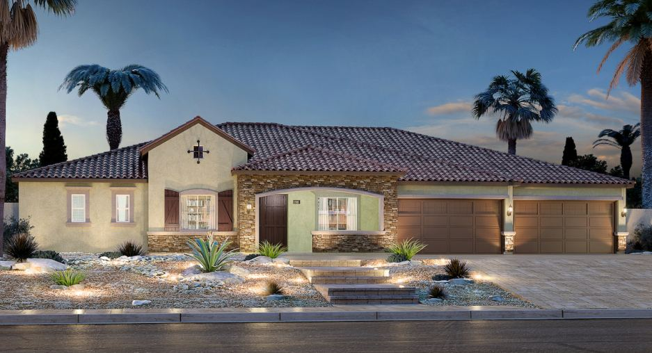 Emerald Crest in Las Vegas will debut two more model homes next month.