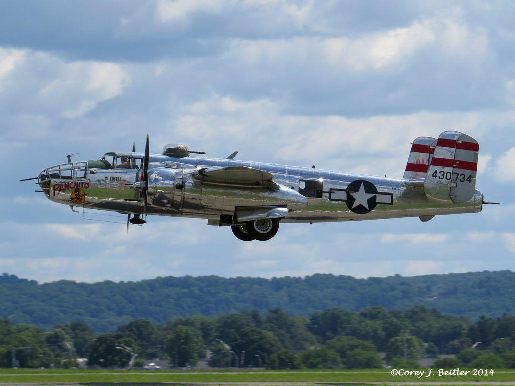 DAV Flight Team's  B-25 Panchito