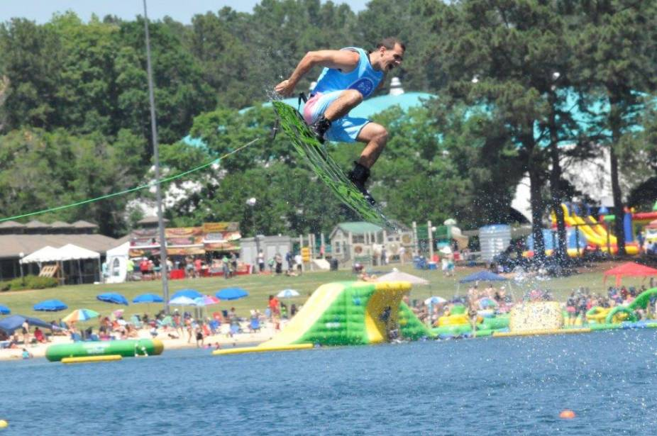 Robin Lake Beach Opens For Summer Callaway Gardens Kicks Off With The Masters Water Ski