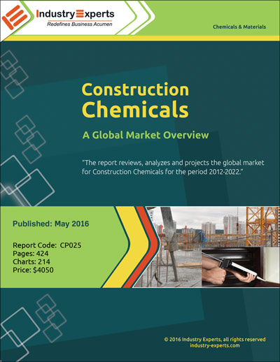 construction chemicals market global industry analysis The global construction chemicals market is highly fragmented and various market players in several developing countries are focussing on strengthening their partnership with local companies and are strategically deploying prime distributors in local regions.