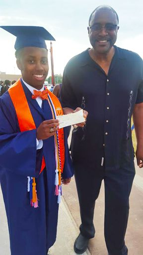 Jefferson, Valedictorian given 2nd $500.00 from Keys & Fred Burns Scholarship