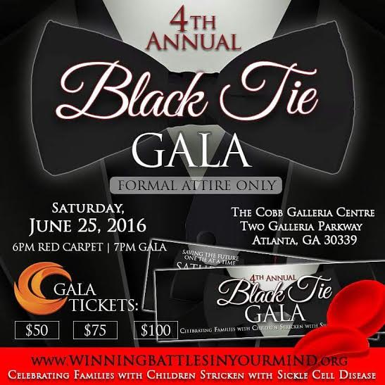 Fourth Annual Black Tie Gala To Raise Funds For Atlanta