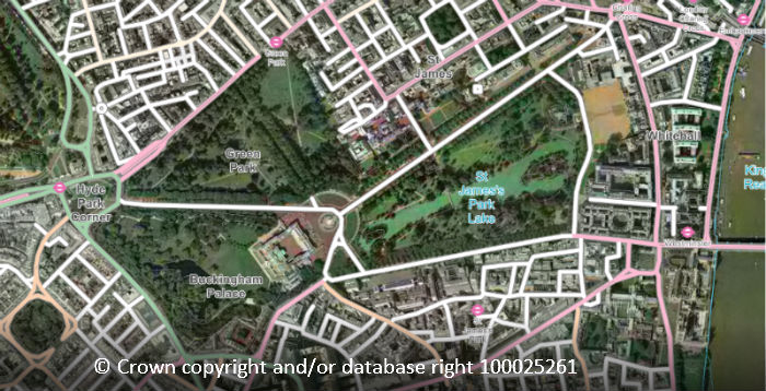 Highlighting the classified road network in OS Open Map - Local