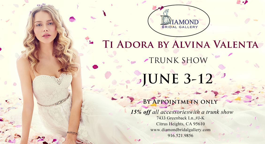 Ti Adora Trunk Show at Diamond Bridal Gallery
