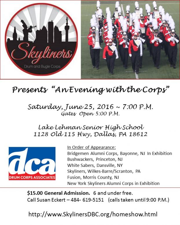 Skyliners_Evening_With_The Corps_Flyer_6-25-2016