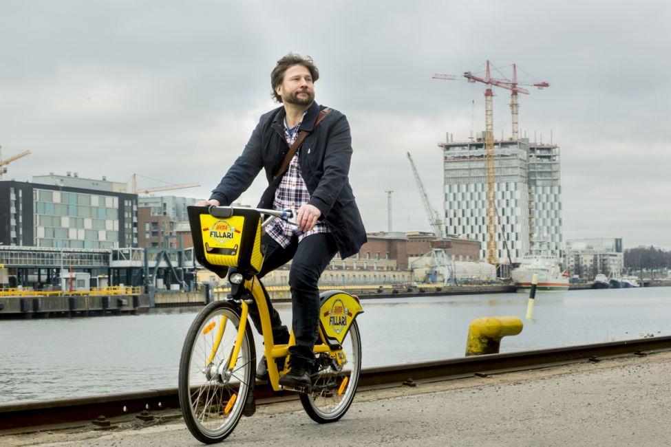 Helsinki's new public bike-share program. Photo: Helsinki Region Transport