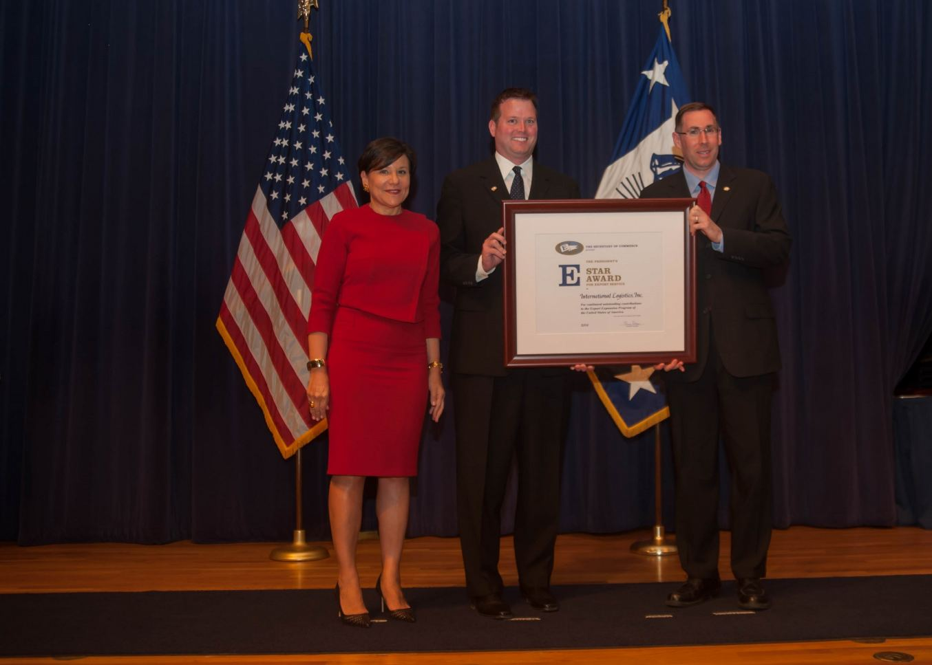U.S. Secretary of Commerce Penny Pritzker,Patrick Hastings, Ryan Stowe