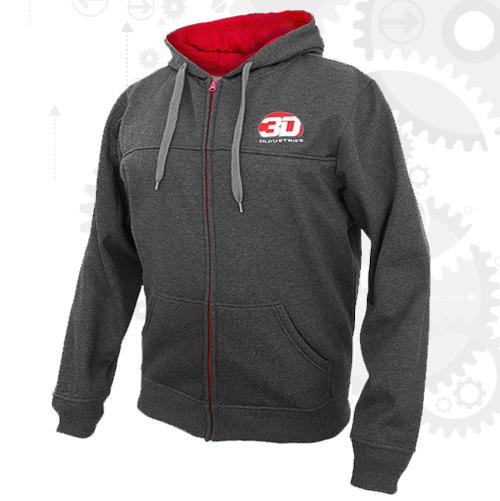 Customizable zip up hoodies
