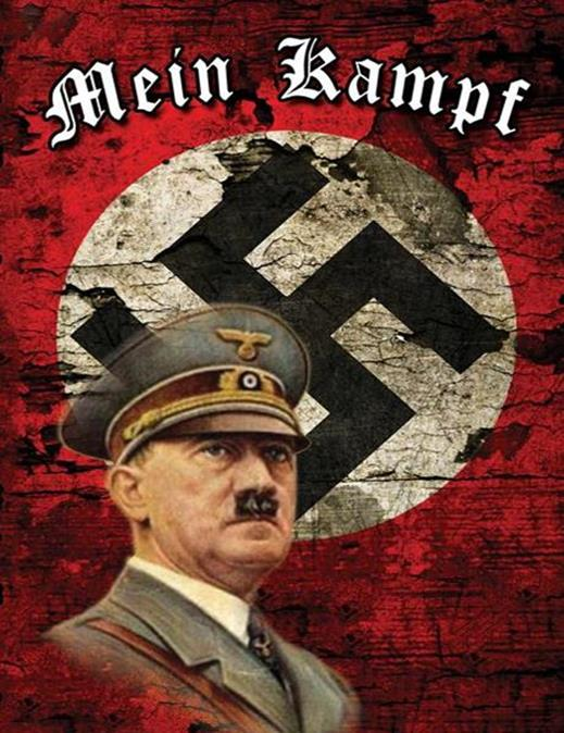 Neo-Nazi MEIN KAMPF edition in German