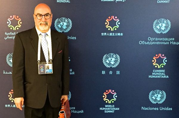 Firdaus Kharas at World Humanitarian Summit