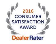 Massillon Dodge Dealer 2016 Consumer Satisfaction Award
