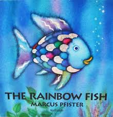 Marcus fabrics hooks exciting opportunity with the rainbow for Rainbow fish children s book